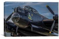 Lancaster Bomber , Thumper , Canvas Print