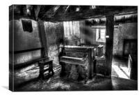 Packard Fort Wayne Organ Company Indiana, Canvas Print