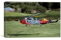 Royal Navy Search & Rescue 771Sqn, Canvas Print