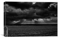 Anglesey Storm, Canvas Print
