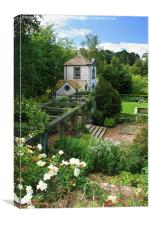 Bodnant Garden Pin Mill , Canvas Print