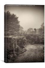 Misty Garden, Canvas Print