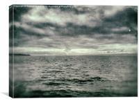 Smoke on the Horizon, Canvas Print
