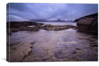 Elgol rocks! , Canvas Print