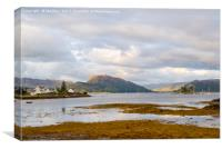 Plockton, Isle Of Skye, Scotland, Canvas Print