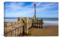 Mundesley Beach, Norfolk, Canvas Print