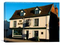 The Dove, Ipswich , Canvas Print