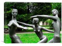 Peace Dance, Canvas Print