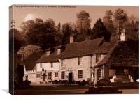 In Days Of Old, Castle Combe, Canvas Print