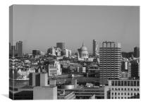 London Skyline - Old and New, Canvas Print