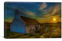 Chapel Sunrise, Canvas Print