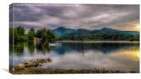 Lakeland Boathouse , Canvas Print