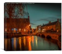 The Cotswolds,  Bourton  on the Water., Canvas Print