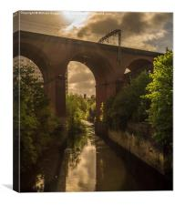 Stockport Viaduct , Canvas Print