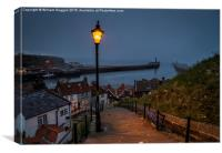 Whitby North Yorkshire ., Canvas Print