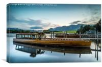 The Lake Cruiser ,Keswick, Canvas Print