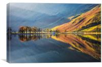 Shafts of Light (Buttermere), Canvas Print