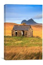 Abandoned Building (Elphin, Canvas Print