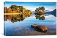 Abbot's Bay Reflections, Canvas Print