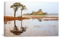Kilchurn Reflections, Canvas Print