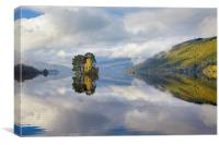 Loch Tay Reflections, Canvas Print