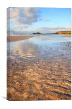 Sand Ripples and Reflections (Godrevy), Canvas Print