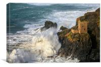 Lower Engine House at Botallack, Canvas Print