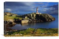 Eilean Glas Lighthouse (Scalpay) , Canvas Print