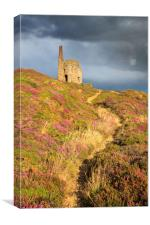 Path to the Engine House, Canvas Print