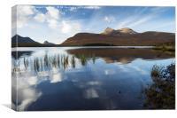 Stac Pollaidh and Cul Mor from Loch an Ais, Canvas Print