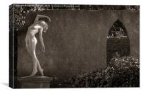 Archway Nude, Canvas Print