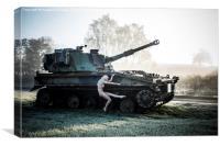 Tank Girl, Canvas Print