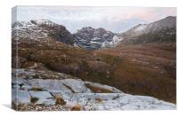 An Teallach Dawn, Canvas Print