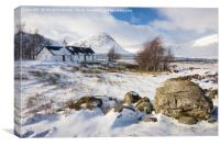 Winter in the Highlands, Canvas Print