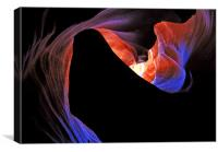 Antelope Canyon pattern, Canvas Print