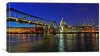 St Paul's & Millenium Bridge - V2