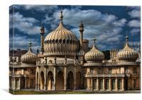 Royal Pavilion - Brighton, Canvas Print