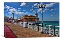 Brighton Pier view, Canvas Print