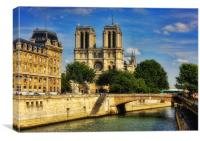 Notre Dame of Paris, Canvas Print