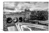 Pulteney Bridge - Bath, Canvas Print