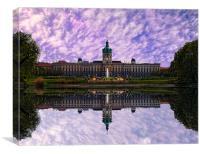 Charlottenburg Palace, Canvas Print