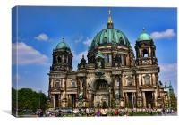 Berlin Cathedral, Canvas Print