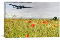 Lancaster Bomber, Canvas Print