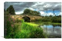 Tranquil Bridge, Canvas Print