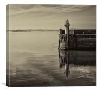 Burtisland Lighthouse, Canvas Print