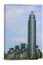 London Skyscraper, Canvas Print