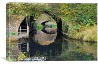 Port Tennent Canal - Times Past, Canvas Print