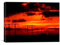 Sunset #5, Canvas Print