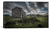 Yorkshire Dales Barn at Keld, Canvas Print