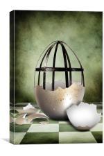An Egg, Canvas Print